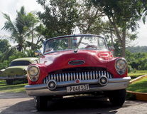 Old American Cars In Cuba Stock Image