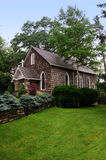 Old American Country Church. In a rural and country setting Stock Photography