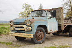 Old American Farm Truck Stock Images