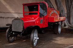 Old american fire station vehicle Royalty Free Stock Photo