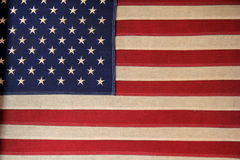 Old American flag Royalty Free Stock Photos