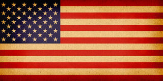 Old American Flag Stock Image