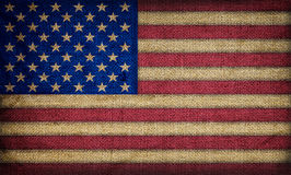 Old American flag Royalty Free Stock Photo