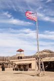 Old american fort Royalty Free Stock Photography