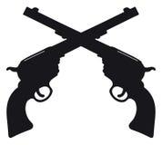 Old american guns Stock Photos