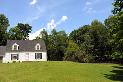 Old american House. Beautiful country Old american House Stock Photos