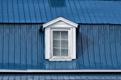 Old american house dormer Stock Photography