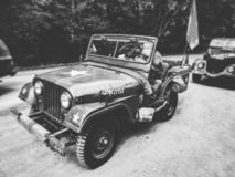 Old us army jeep willis stock photos