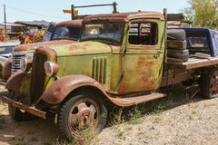Old American Pickup Stock Photos