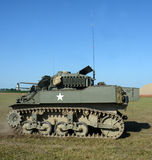 Old American tank Stock Photography