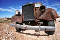 Old american truck Royalty Free Stock Images
