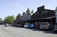 Old American West  town Royalty Free Stock Image