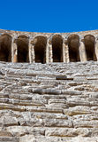 Old amphitheater Aspendos in Antalya, Turkey Stock Images
