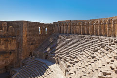 Old amphitheater Aspendos in Antalya Stock Photos