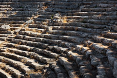 Old amphitheater Phaselis in Antalya, Turkey Stock Photos