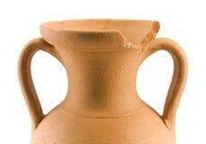 Old amphora royalty free stock photos