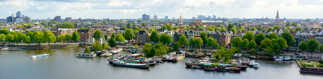 Old Amsterdam city Royalty Free Stock Photos
