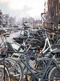 Old Amsterdam Stock Photography