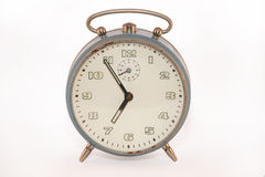 Old analog alarm clock Royalty Free Stock Images
