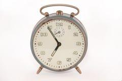 Old analog alarm clock. Old analog vintage alarm clock Royalty Free Stock Images