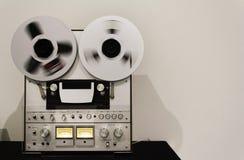 Vintage recording tape royalty free stock photo