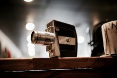 Old analog camera Royalty Free Stock Images