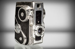 Old analog Camera with copy space Royalty Free Stock Images