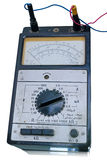 Old analog electronic tester Royalty Free Stock Photography