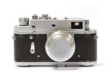 Old analog russian photo camera Stock Image