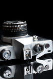 Old analogue camera Royalty Free Stock Photos