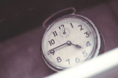 An old analogue clock Royalty Free Stock Photos