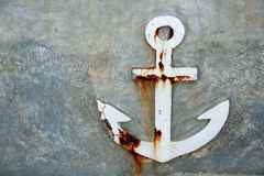 Old anchor Royalty Free Stock Image