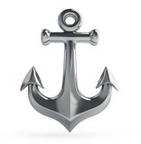 Old anchor Stock Photo