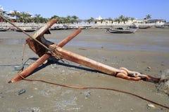 Old anchor Stock Photos