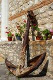 Old anchor. Bulgaria. Nessrbar. Stock Image