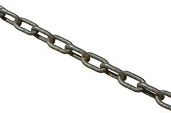 Old anchor chain Royalty Free Stock Image