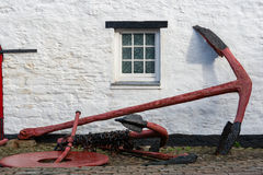Old anchor. Kinsale, Ireland Stock Image