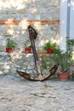Old anchor in Nessebar. Bulgaria Royalty Free Stock Photo