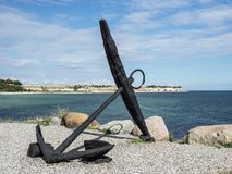 Old anchor Royalty Free Stock Photography