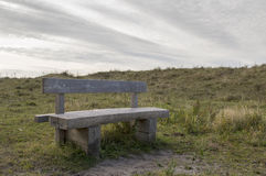 Old ancient bench in the forest Royalty Free Stock Photography