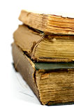 Old ancient books Stock Photo