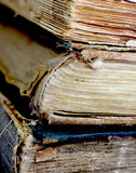 Old ancient books Stock Image
