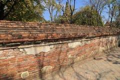 Old ancient brick wall Stock Photo
