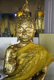 Old ancient buddha Stock Image