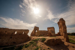 Old ancient city ruin wall of Fes, Morocco Royalty Free Stock Photography