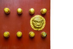 Old Ancient door Chinese style Royalty Free Stock Photos