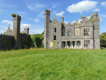 The Saunderson Ancient Old Irish Castle royalty free stock photos