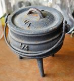 Old Ancient Joss Stick Pot or Incense Burner. Chinese Cultural, Old Rustic Vintage Brass Joss Stick Pot or Chinese Incense Burner Stock Photos