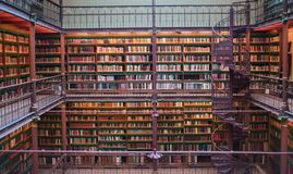 Free Old Ancient Library Interior, Ceiling Books, Windows, Bookshelf Royalty Free Stock Photography - 112707797