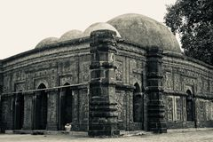 An old ancient mosque unique photo. An old architectural mosque isolated unique royalty free image stock image